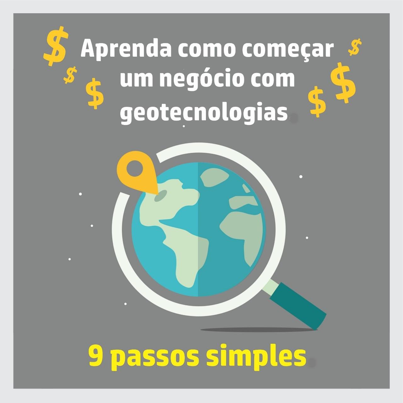 Capa Livro Aprenda Como Começar um Negócio com Geotecnologias