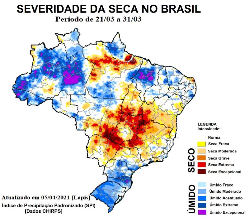 A tecnologia para reduzir os impactos da seca agrícola