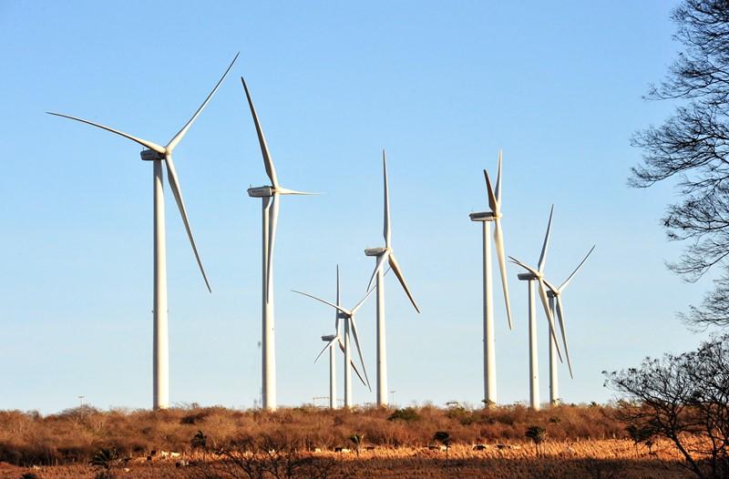 Energia eólica é a segunda principal fonte no Brasil